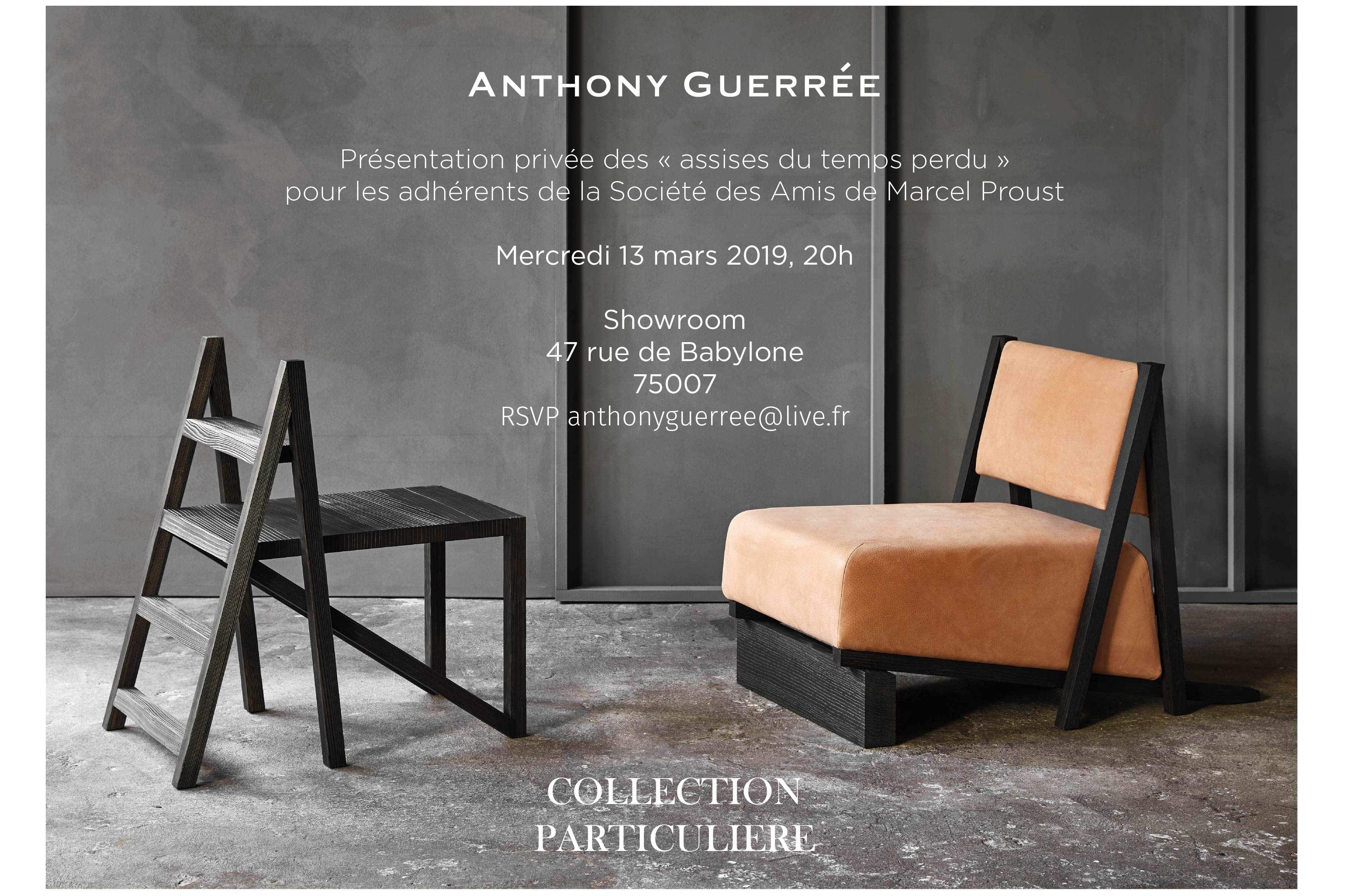 invitation 13 mars 2019 Anthony Guerree x SAMP